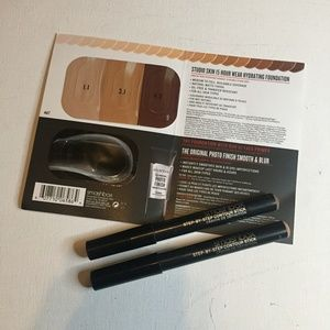 SMASHBOX COSMETICS 4pc COMPLEXION MAKEUP BUNDLE